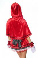 Foto 5 Rotkäppchen-Kostüm,4-tlg. hoch-und aufwendig verarbeitet