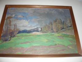 Rudolf Hafner Ölgemälde
