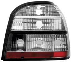 Rückleuchten Heckleuchten VW Golf III (1H) 91-97 chrom/klar