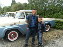 Foto 3 Rumblers BBQ   Bilder, - Rock A Billy Daddy war da... Ralf S . Corinns u Cedy