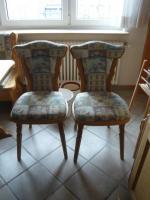 Foto 2 Rustikaler Eckbank mit zwei Stühlen und Tisch ausziehbar