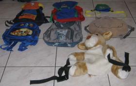 SAMMLUNG von 7 tollen Kinder-Rucksäcken z.B.: DISNEY u.a.