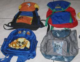 Foto 4 SAMMLUNG von 7 tollen Kinder-Rucksäcken z.B.: DISNEY u.a.