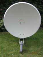 SAT Sch�ssel Kathrein m. LNB Quatro, 100 cm Durchmesser