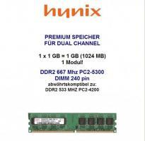 SDRAM DDR-2 Hynix
