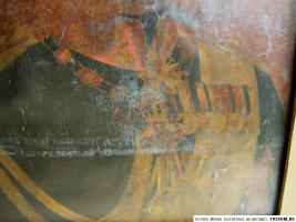 Foto 3 SELTEN .*2 alte Ölgemälde in EINEM*, auf Leinen