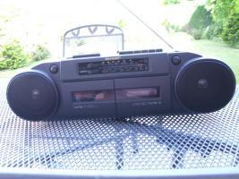 SHARP Stereo-Radiocassettenrecorder