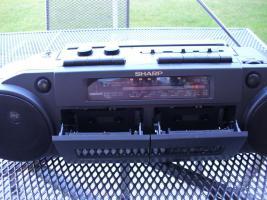 Foto 3 SHARP Stereo-Radiocassettenrecorder