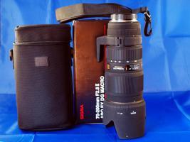 SIGMA 70-200mm F2.8, Typ II, APO EX DG Macro HSM (gebraucht)