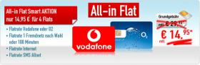 SIM-Karte mit 4 Flatrates D2 +Fremdnetz + SMS Allnet + Datenflat nur 14,95 monatlich