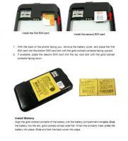 Foto 8 SMARTPHONE CECT I68 - I9 DUAL SIM +DEUTSCHER BEDINUNGSANLEITUNG