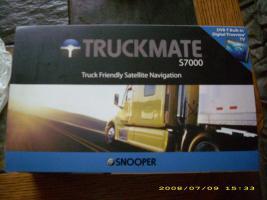 SNOOPER '' Truckmate S 7000 '' Truck Navi