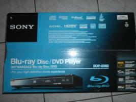 SONY BDP-S360 BLUE-ray-PLAYER/ DVD Player NEU