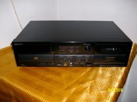 SONY Compact Disc Cassetten Deck
