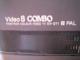 Foto 6 SONY TRINITRON EV-DT1 VIDEO 8 TV COMBO