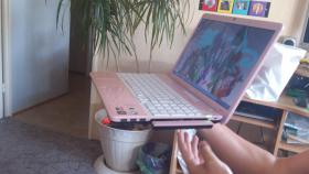 Foto 2 SONY VAIO in Rosa mit front Cam Display 40 zoll /one-Touch-intern