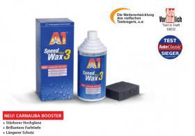SPEED WAX PLUS 3 500 ml / 250 ml DR.WACK