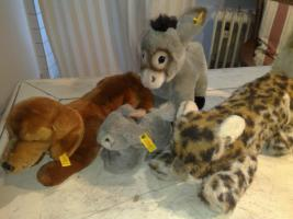 Foto 2 STEIFFTIERE, wie Panda, Schwan, Bäre, Tiger, Hase, Affe....