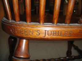 Foto 6 STEWART LINFORD limited edition 1of50 K�niginnen goldene Jubil�um k�niglichen Eiche Stuhl