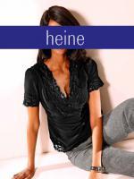 S. Madan - Designer-Chiffon-Spitzen-Bluse, schwarz Gr. 36 - OVP - NEU