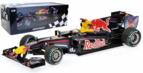 S. Vettel Red Bull RB6 Formel 1 Weltmeister Abu Dhabi GP 2010