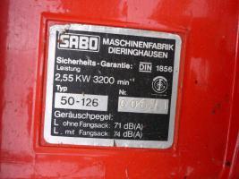 Foto 2 Sabo Benzinrasenm�her 50-126