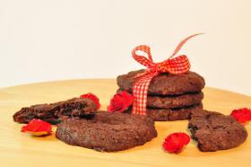Foto 3 Sachertorten Cookies mmm.