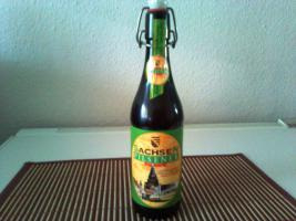 Sachsen Pilsener Premium Bierflasche