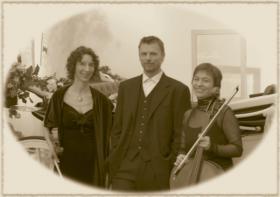 Salonmusik mit dem Frankfurter Caféhaustrio
