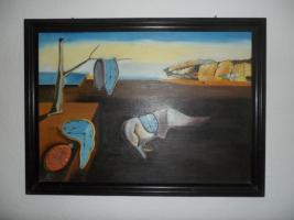 Salvador Dali ''Zerinnende Zeit''