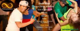 Samba, Forró und Samba de Gafieira, Brasilianische Zouk,Kizomba und Ba