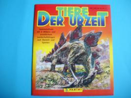 Sammelalbum Tiere der Urzeit Panini 1992