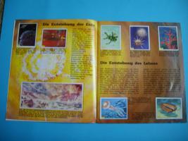 Foto 2 Sammelalbum Tiere der Urzeit Panini 1992