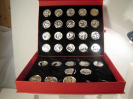 Sammelbox für 10 Yuan Pandamünzen/China