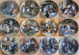 Sammelteller Bradex *Neuwertig* Ägypten, Marienbilder, Jesu, Katzen, Vögel, Bunny Tales, Ikonen