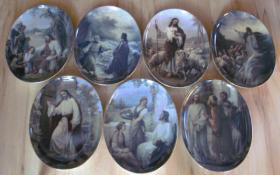 Foto 4 Sammelteller Bradex *Neuwertig* Ägypten, Marienbilder, Jesu, Katzen, Vögel, Bunny Tales, Ikonen