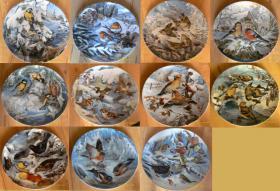 Foto 6 Sammelteller Bradex *Neuwertig* Ägypten, Marienbilder, Jesu, Katzen, Vögel, Bunny Tales, Ikonen