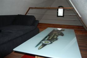 Foto 3 Sammlerstück! - Glastischplatte ''Lotus Formel 1''-Rennwagen