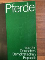 Foto 5 Sammlerstücke 2 Hefte ''PFERDE aus der DDR'' - echt DDR