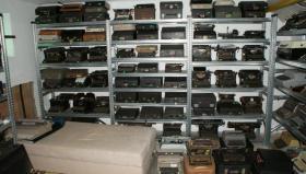 Sammlung von den Schreibmaschinen (ca.230 Stck)