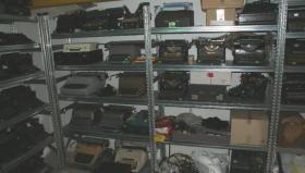 Foto 2 Sammlung von den Schreibmaschinen (ca.230 Stck)