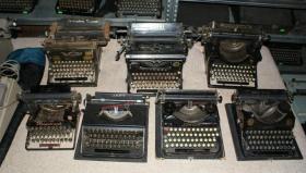 Foto 3 Sammlung von den Schreibmaschinen (ca.230 Stck)