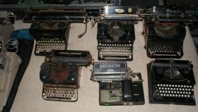 Foto 4 Sammlung von den Schreibmaschinen (ca.230 Stck)