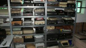 Foto 5 Sammlung von den Schreibmaschinen (ca.230 Stck)