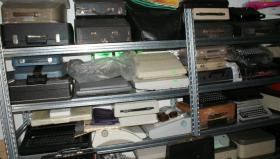Foto 6 Sammlung von den Schreibmaschinen (ca.230 Stck)