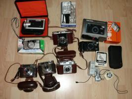 Sammlung alter u. neuer Fotoapparate 1960 - 2000!TOP!