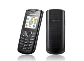 Samsung GT E1170 - Schwarz (Vodafone) Handy