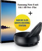 Samsung Galaxy Note8 +  Docking-Station gratis!