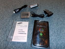 Samsung Galaxy S Plus Handy in metallic black NEU mit OVP