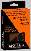 Samsung Galaxy S3-Akku moTec NEU 2400mAh